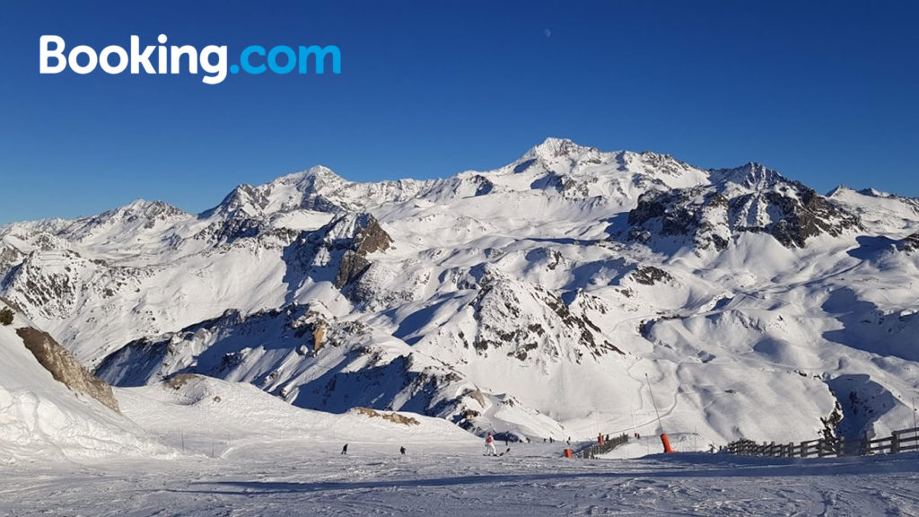 Best ski holiday accommodation from iRide with partners Booking.com