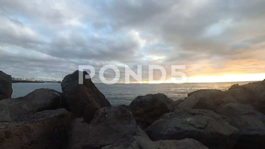 Downloadable video footage of sunsets from the Canary Islands and Tenerife