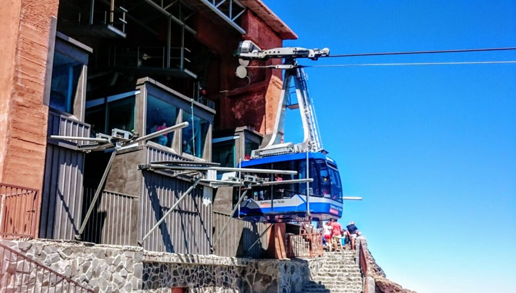 Teide cable car Tenerife - Top 5 attractions Tenerife