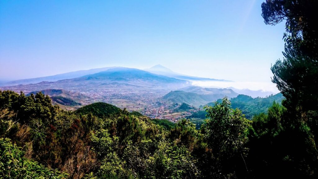 Tenerife's Mount Teide from Anaga National Park. Top 5 attractions Tenerife