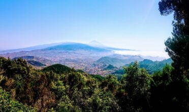 Tenerife's Mount Teide from Anaga National Park