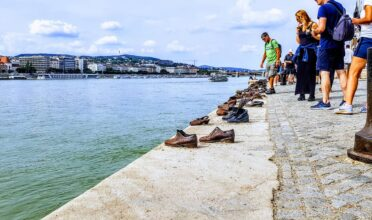Budapest Shoes on the Danube Memorial to the shot Jews
