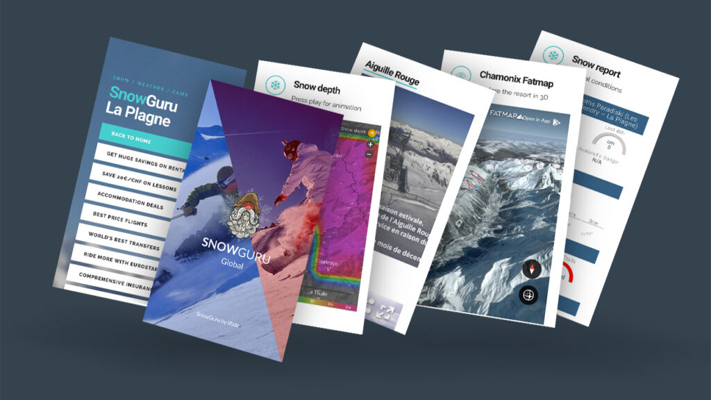 SnowGuruGlobal is the world's best ski and snowboard reporting app