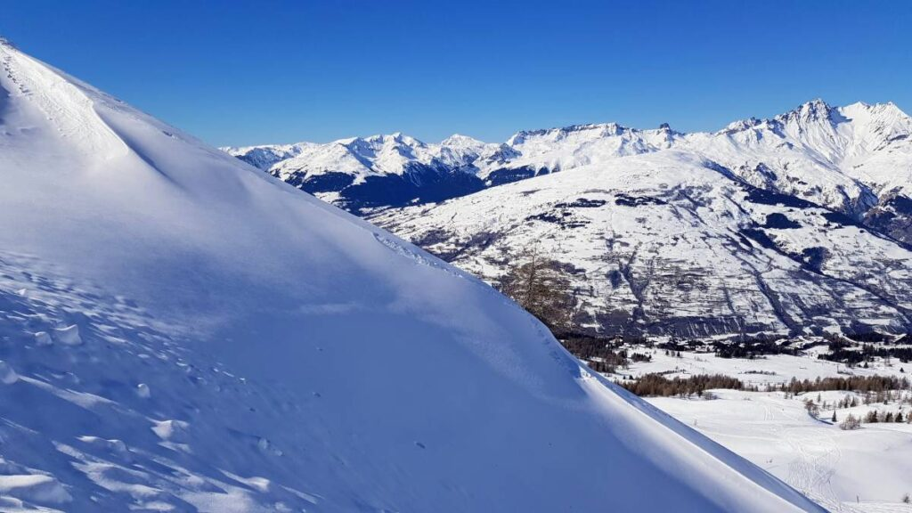 Go off-piste to find the best snow and avoid queues in a ski resort