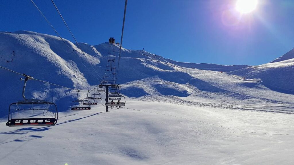 Get the most skiing and snowboarding in a busy ski resort