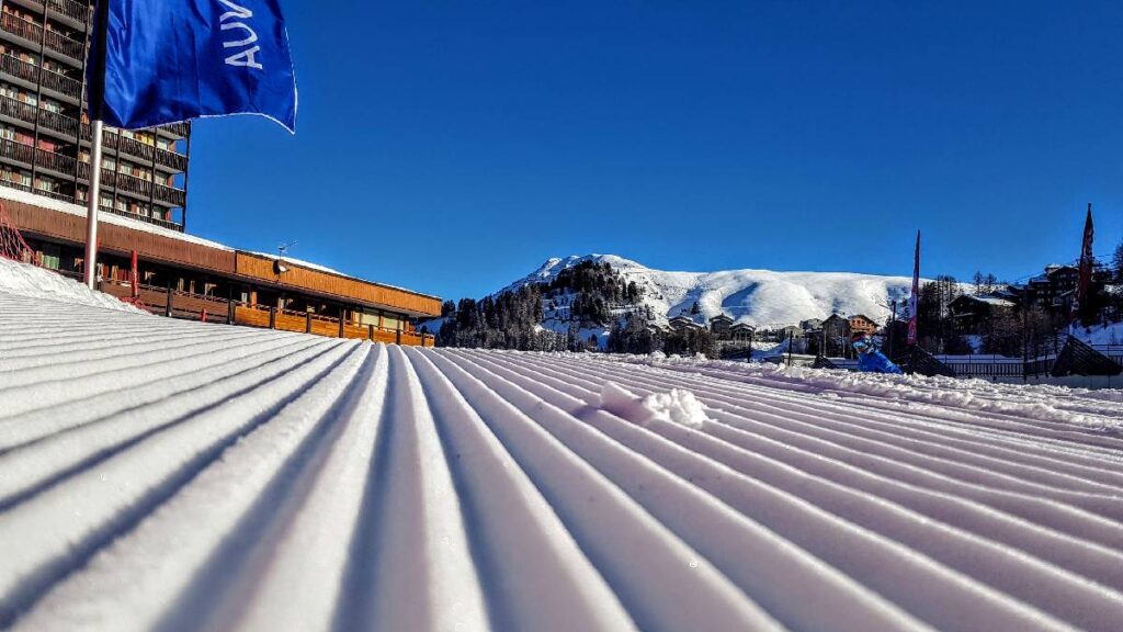The quietest times in ski resorts