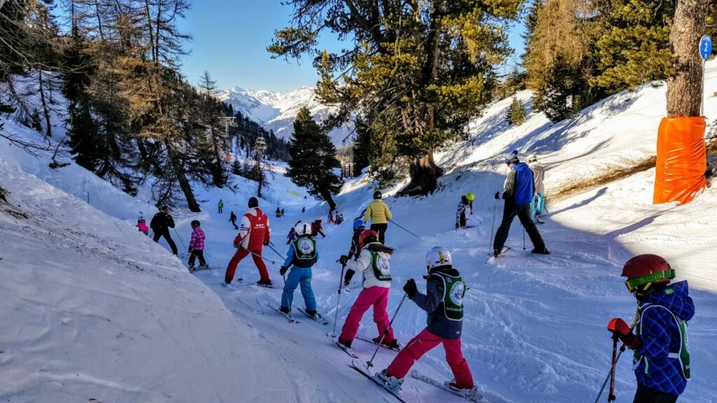 When are ski resorts busiest