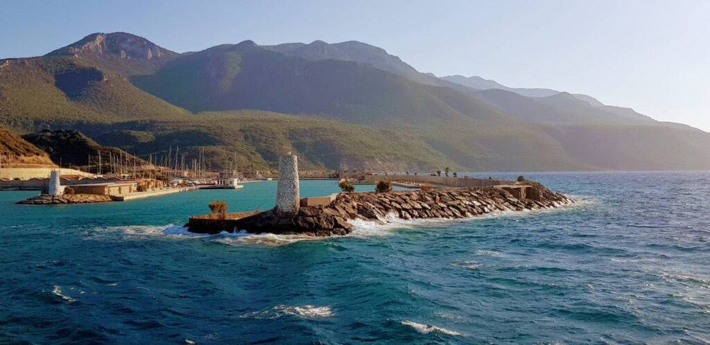 Leaving the harbour at Kormen near Datça is one of the most surreal and beautiful experiences