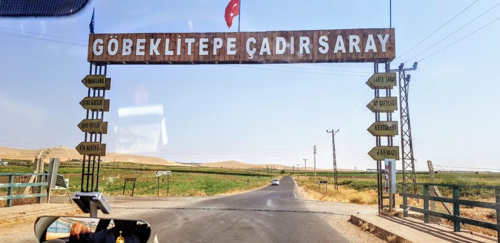 Taking a taxi to Göbeklitepe from Sanliurfa